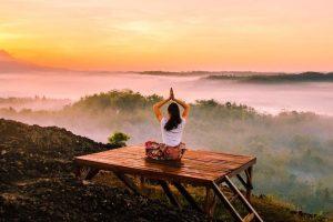 Namaste Yoga Posture