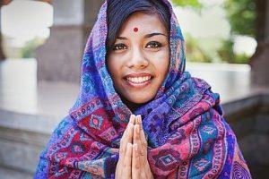Namaste Posture