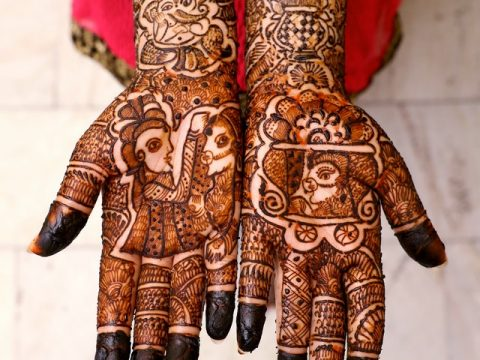 "Apply Henna-""Mehendi"" For Beauty, Prosperity & Medicinal Benefits!"