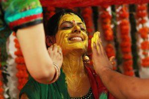 Hindu Haldi Ritual