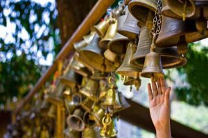 Do Ring The Temple Bell As You Enter The Temple!