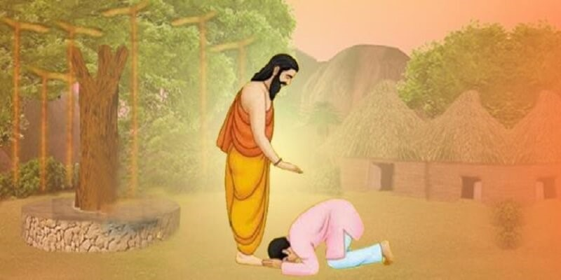 Touch Feet of Elders & Teachers – Get Blessings. Try It! | Dharma-WeRIndia