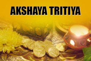 Buy Gold & Gain Fortune On Akshaya Tritiya