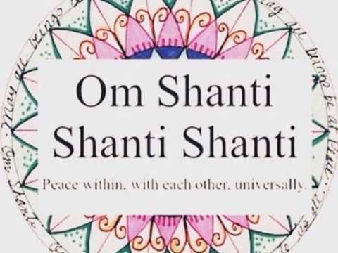 Chant Shanti Thrice After Prayer To Regain Your Inner Peace