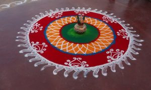 Decorate Your Home With The Hindu Art Rangoli & Get Goodluck & Positivity