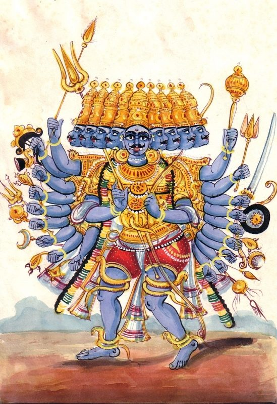 Theoretical & Interesting Facts Behind Ravana's Ten Head