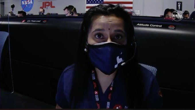 NASA Scientist Swati Mohan & Her Bindi The New Buzz-makers In The Internet